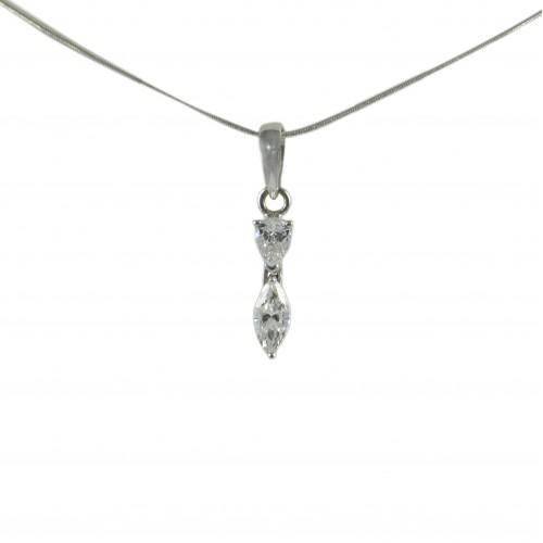 18kt Diamond Pendant